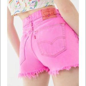 Levi's original 501 shorts